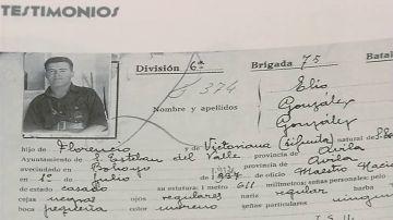Elio, el maestro condenado por el franquismo siete años después de muerto