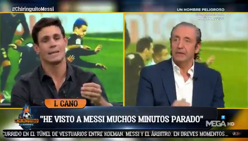 """Edu Aguirre, contundente: """"Decir que Messi ha vuelto es poner el listón muy bajo"""""""