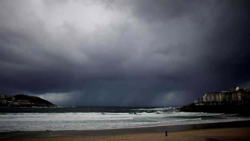 Playa del Orzán en A Coruña