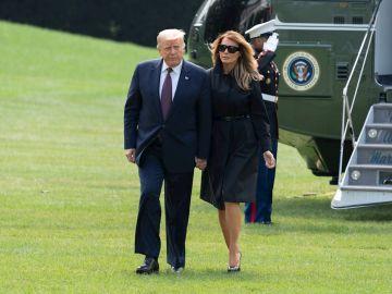 Donal Trump y Melania