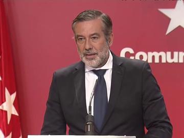 """El consejero de Justicia advierte de que el 'cierre' de Madrid va a generar """"el caos"""""""