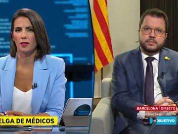 Ana Pastor y Pere Aragonés