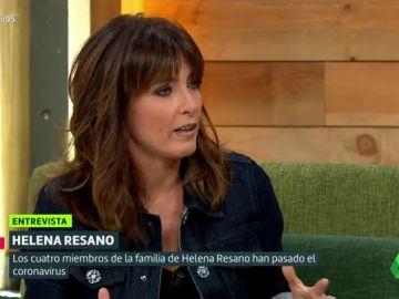 """Helena Resano cuenta cómo sufrió el coronavirus: """"Cómo y cuándo te vas a contagiar y cómo vas a reaccionar es una lotería"""""""