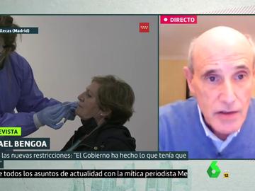 Rafael Bengoa, experto en salud pública, en Liarla Pardo.