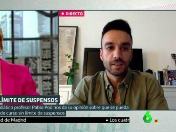 Pablo Poó, profesor de Lengua, habla sobre la nueva norma ministerial de Educación.
