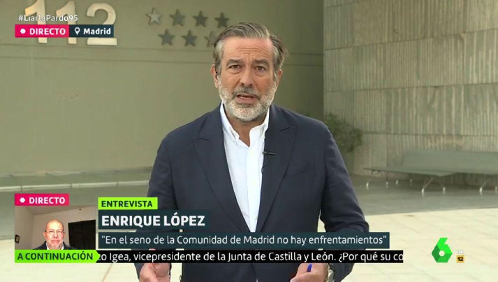 Enrique López en Liarla Pardo