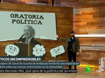 El presentador Manu Sánchez en Liarla Pardo.
