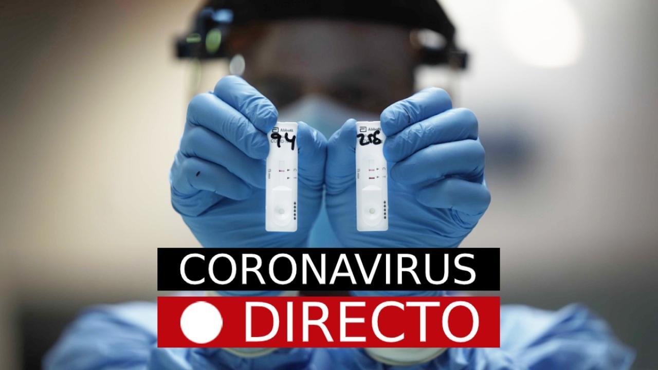 Coronavirus en España, hoy: Última hora de Madrid, casos, datos y noticias de la COVID-19, EN DIRECTO