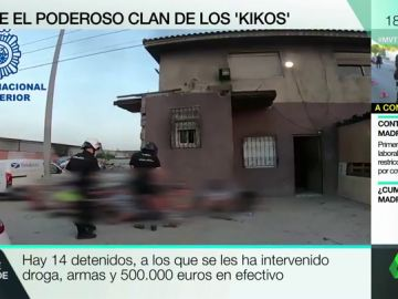 Golpe al narcotráfico en la Cañada Real: cae el mayor dispensario de droga de Madrid