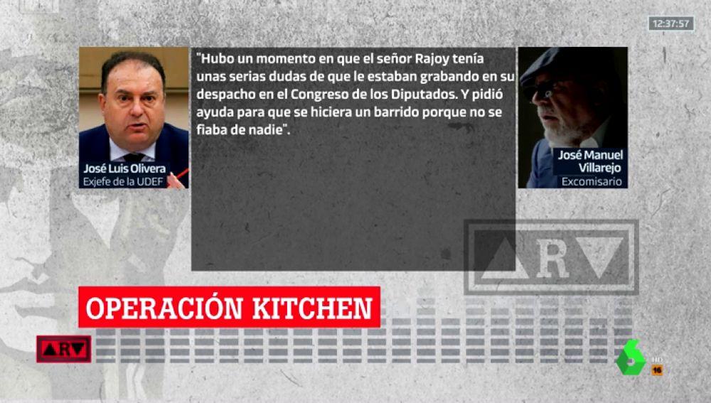 Rajoy pidió a Sáenz de Santamaría que hiciera un barrido en su despacho del Congreso porque sospechaba que le espiaban