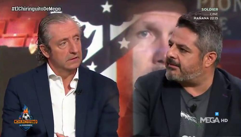 """Jalis de la Serna muestra su lado más futbolero: """"Sufro muchísimo por el Atleti"""""""