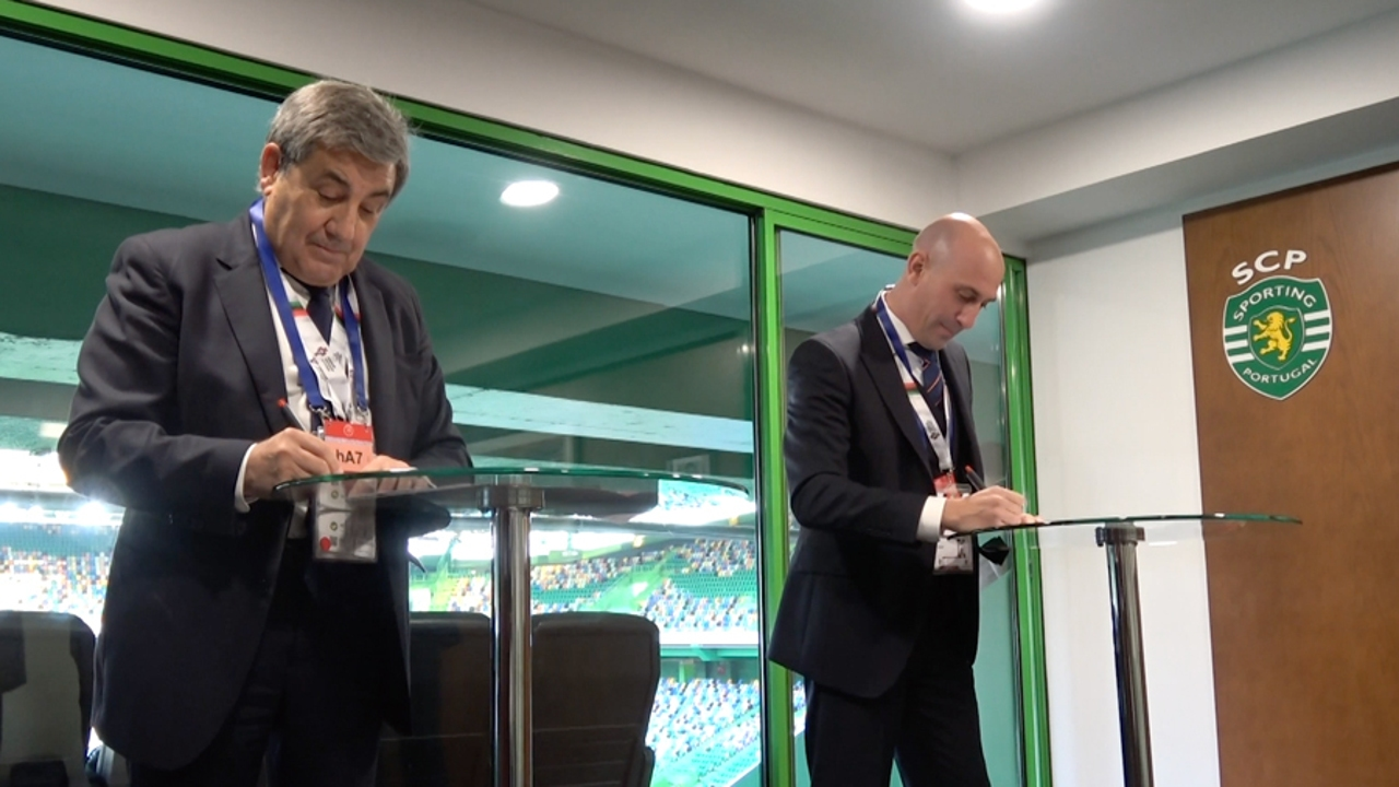 Fernando Gomes y Luis Rubiales