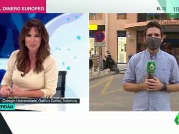 """La emotiva despedida de Mamen Mendizábal al reportero Paco Cerdán en pleno directo: """"Eres un valiente. Te queremos, y lo sabes"""""""
