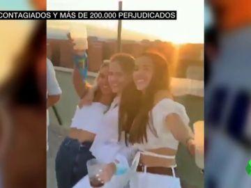 Fiesta ilegal en el colegio mayor Galileo Galilei de Valencia