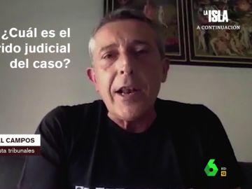 Miguel Ángel Campos, periodista de Tribunales de 'Cadena Ser'.