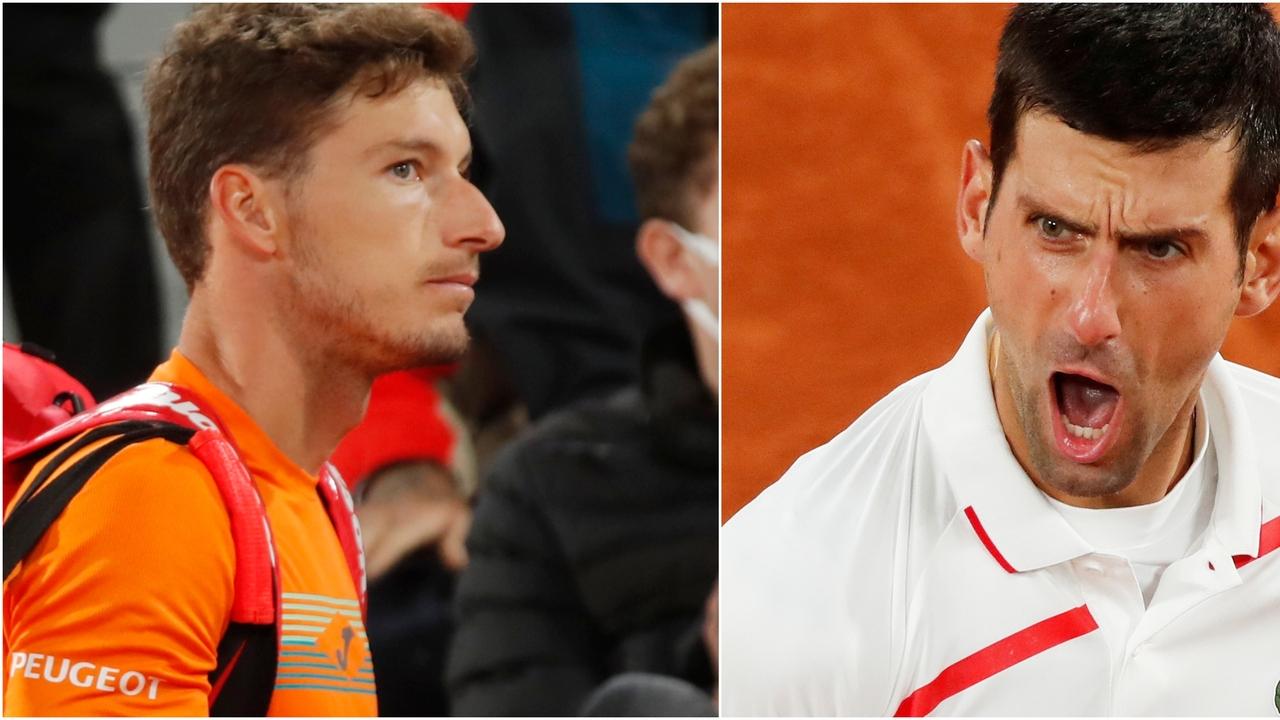 Pablo Carreño y Novak Djokovic