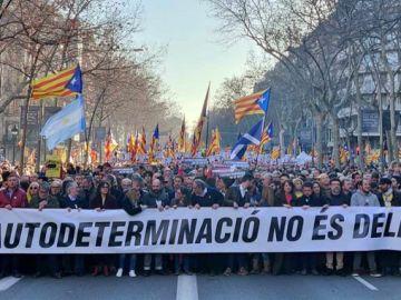 El independentismo se moviliza por la vuelta del rey Felipe VI a Barcelona