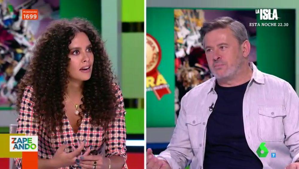 """Miki Nadal desvela cómo es la casa de Cristina Pedroche: """"Es limpia, pero no es ordenada"""""""
