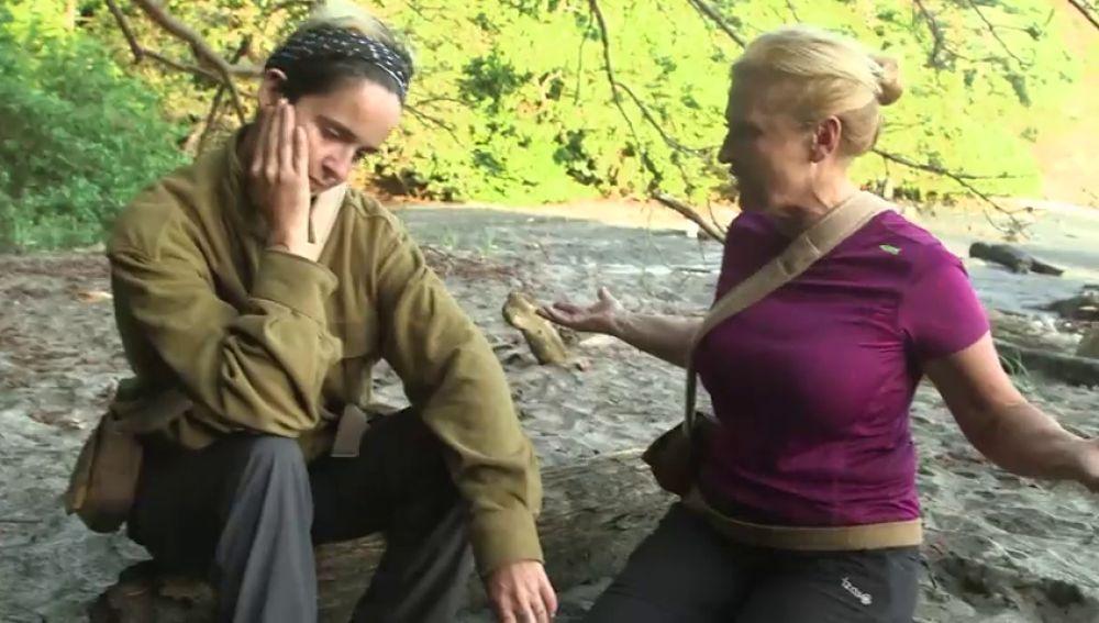 """Silvia hace llorar a Ana María tras llamarle """"vieja"""" y """"clasista"""""""