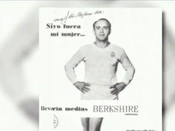 El anuncio de Alfredo Di Stéfano promocionando medias de mujer