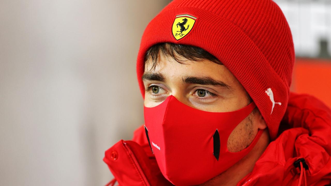 Charles Leclerc, piloto de Ferrari