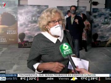 La crítica de Manuela Carmena a la situación de Madrid