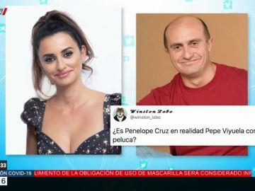 El desternillante debate en Twitter sobre el parecido de Penélope Cruz y Pepe Viyuela