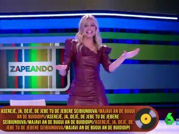Renata Zanchi lo da todo en directo con 'Aserejé': esto es lo que hay detrás de la exitosa canción de 'Las Ketchup'