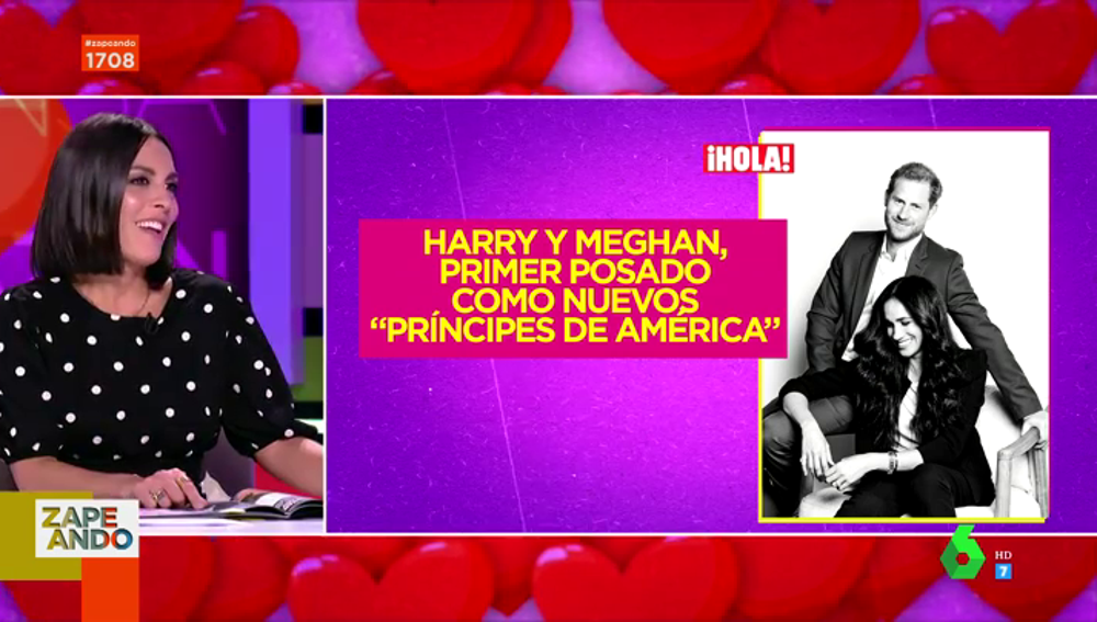 Meghan Markle y Harry: así ha sido su primer posado en América