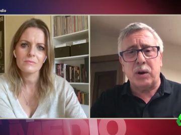 """El mensaje de Gorka Landaburu sobre Abascal: """"Hay gente que estaría contenta de que ETA existiera para decir que estamos en guerra"""""""