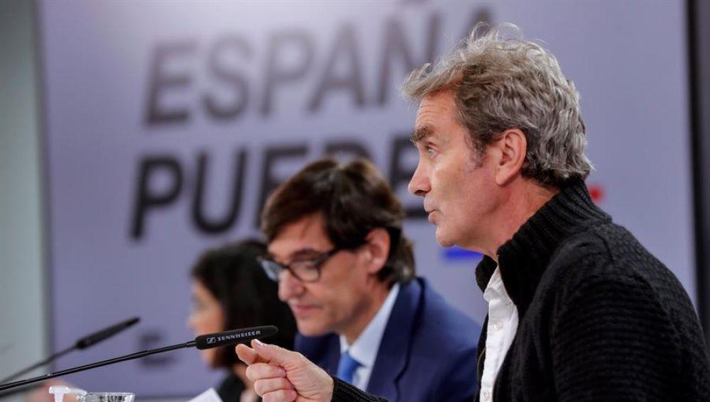 El director del Centro de Coordinación de Alertas y Emergencias Sanitarias del Ministerio de Sanidad, Fernando Simón.