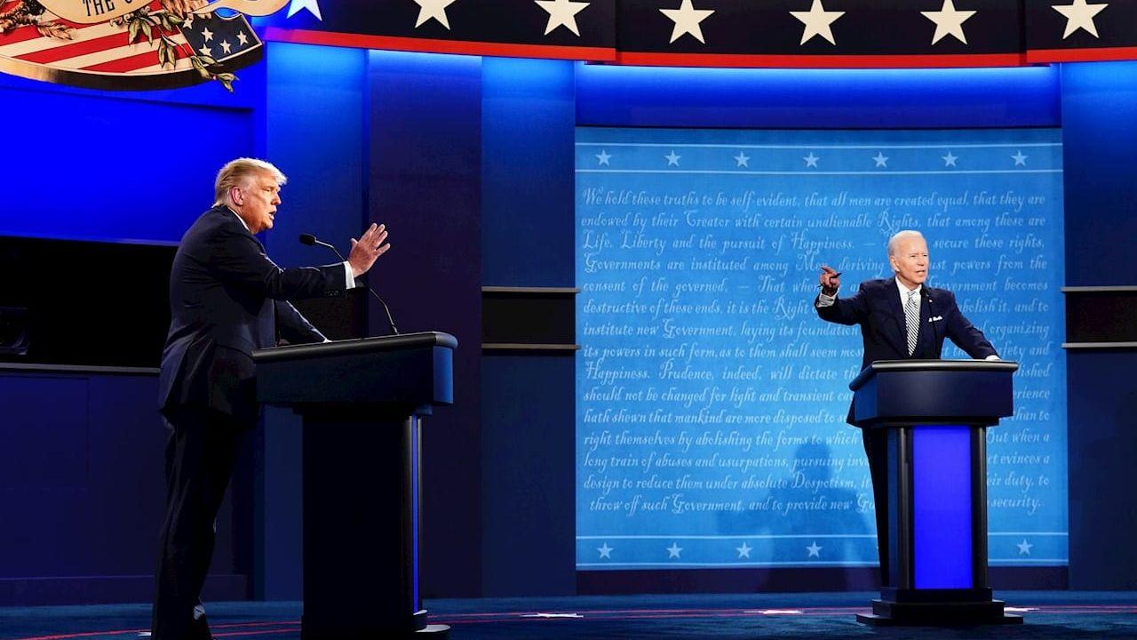 Esto es lo que dicen las encuestas a escasas horas del último debate por las elecciones de EEUU