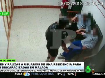 Nuevas imágenes de las vejaciones y palizas a los residentes de un centro para personas con discapacidad en Málaga