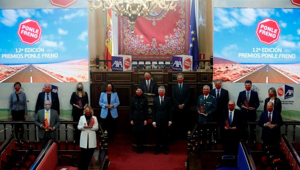 """Entrega de la XII edición de los Premios """"Ponle Freno"""" de Atresmedia"""