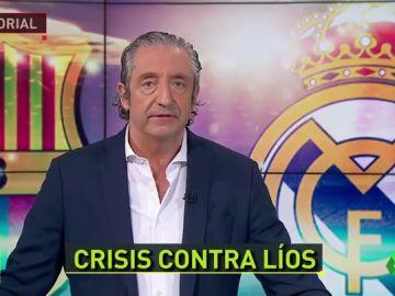 """La visión de Pedrerol sobre el Clásico: """"Guerra, líos y mal fúbol"""""""