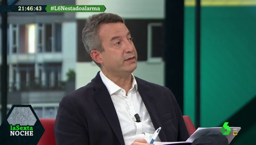"""El doctor César Carballo: """"Es hora de hacer un confinamiento severo de 14 días"""""""