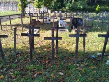Cementerio en el que están enterrados los fetos