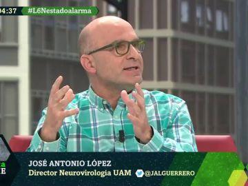José Antonio López, neurovirólogo