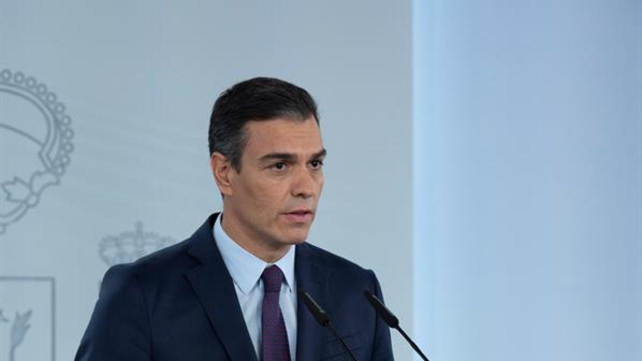 Comparecencia de Pedro Sánchez tras el Consejo de Ministros extraordinario sobre el estado de alarma, streaming en directo