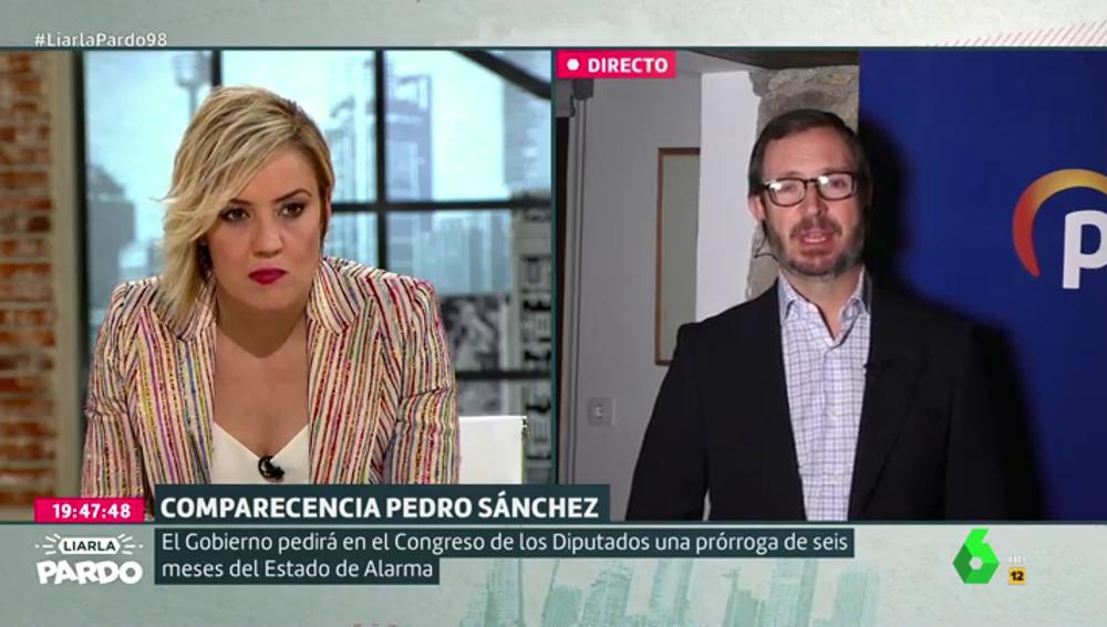 """Maroto no aclara si el PP apoya el estado de alarma del Gobierno: """"Nuestra prioridad es salvar vidas"""""""