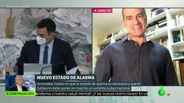 "Toni Cantó carga contra Pedro Sánchez: ""O nos trata como tontos o el tonto es él. Es mejor lo segundo"""