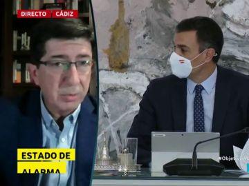 """Juanma Marín (Cs), a favor del estado de alarma aprobado por el Gobierno: """"Era una medida necesaria"""""""