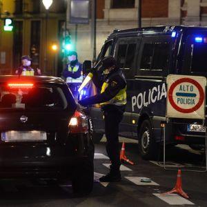 Imagen de un control de la Policía Nacional
