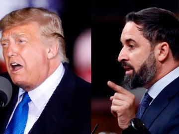 Santiago Abascal y Donald Trump