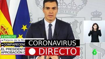 Aprobado el estado de alarma y el confinamiento en toda España por Coronavirus tras el Consejo de Ministros por COVID-19, EN DIRECTO