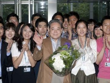 Lee Kun-hee, en una imagen de archivo