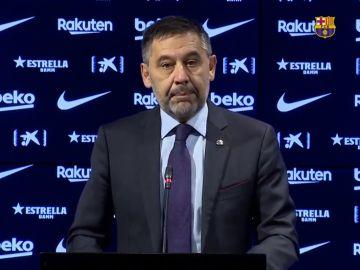 Josep María Bartomeu, presidente del FC Barcelona