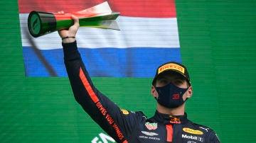 Max Verstappen, tercero en el GP de Portugal