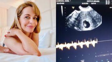 María Adánez anuncia que está embarazada de ocho semanas a sus 44 años
