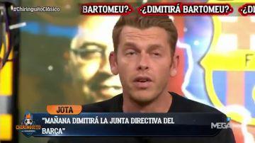 """Noticia de Jota Jordi: """"Josep María Bartomeu y toda su junta directiva van a dimitir este lunes"""""""